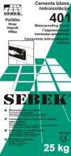 SEBEK 401 Waterproof Slurry