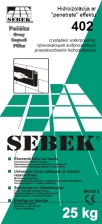 SEBEK 402 Waterproof Slurry