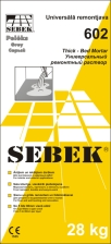 SEBEK 602 Thick-Bed Mortar